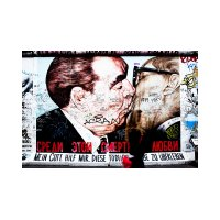 Photo East Side Gallery – Berlin. « Mon Dieu, aide-moi à survivre à cet amour mortel » (en rus…