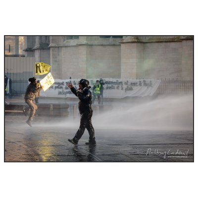 Photo Mouvement gilets jaunes fevrier 2019. Quand le «RiC» prend l'eau...