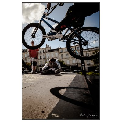 Photographie BMX a la volee (sans description)
