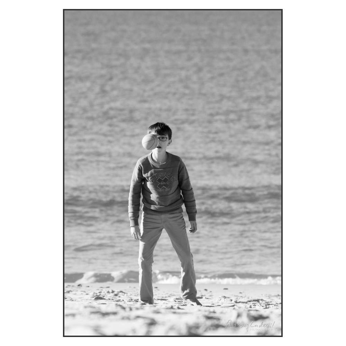Enfance -Jeux de plage