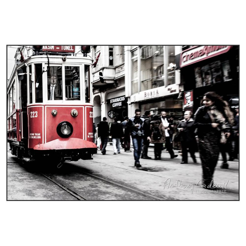 Tramway avenue d'İstiklal, Istanbul